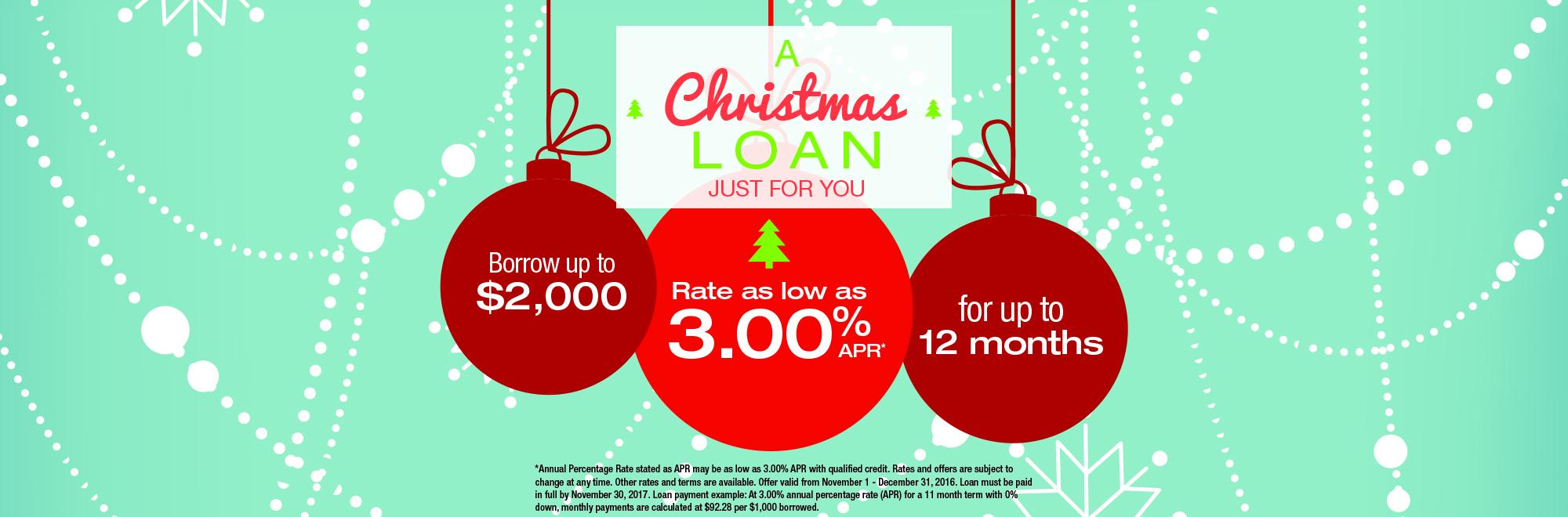 2016 Christmas Loan